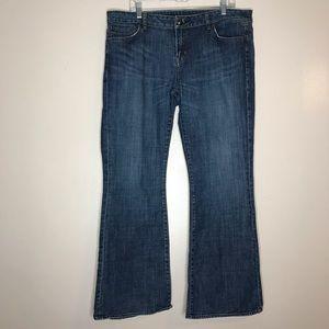 Buffalo David Bitton Felow mid-rise flare jeans 36
